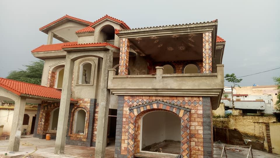Pak Clay Tiles Industry Cement Khaprail Design Images (3)
