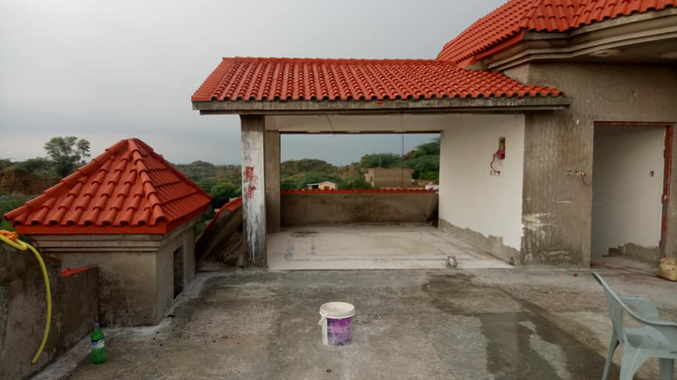 Pak Clay Tiles Industry Cement Khaprail Design Images (6)