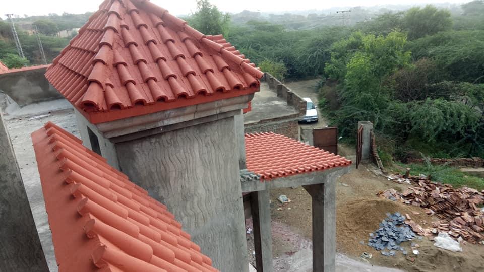 Pak Clay Tiles Industry Cement Khaprail Design Images (7)