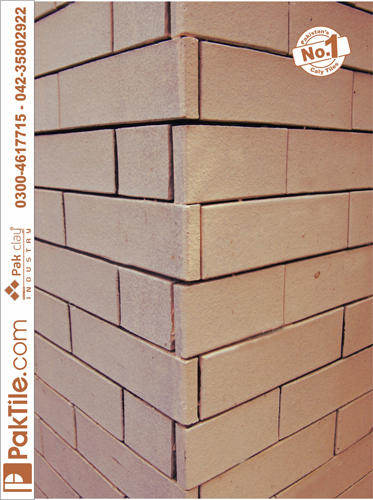Pak clay unglazed red gas bricks gutka split wall face tiles design size low rate in lahore pakistan images