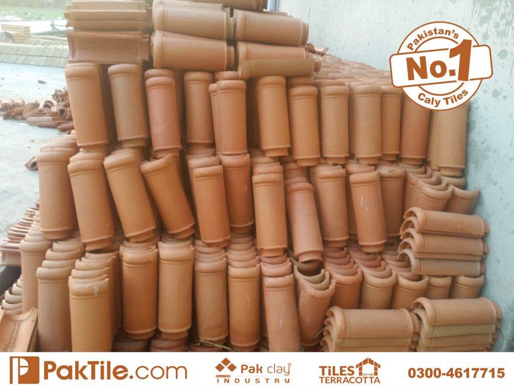 1 Paki Clay Tiles Industry Khaprail Tiles in Karachi Images.