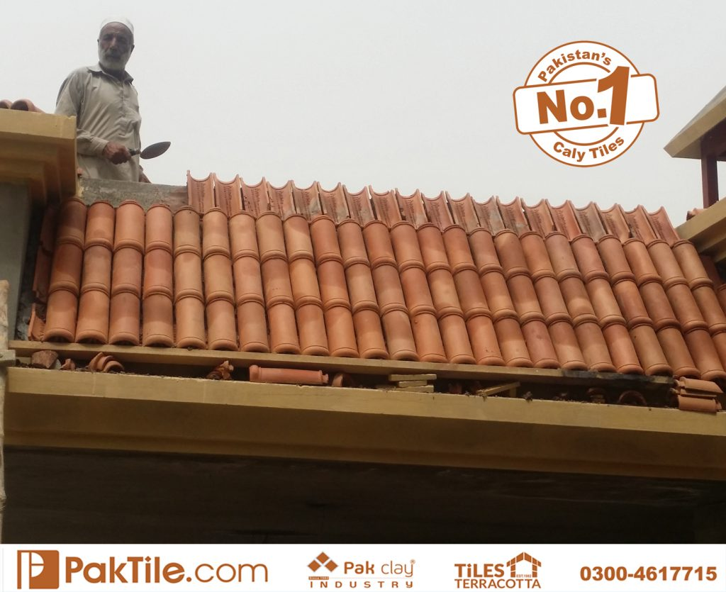 Paki Clay Tiles Industry Khaprail Tiles in Karachi Images (10)