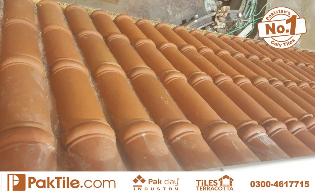 Paki Clay Tiles Industry Khaprail Tiles in Karachi Images (2)