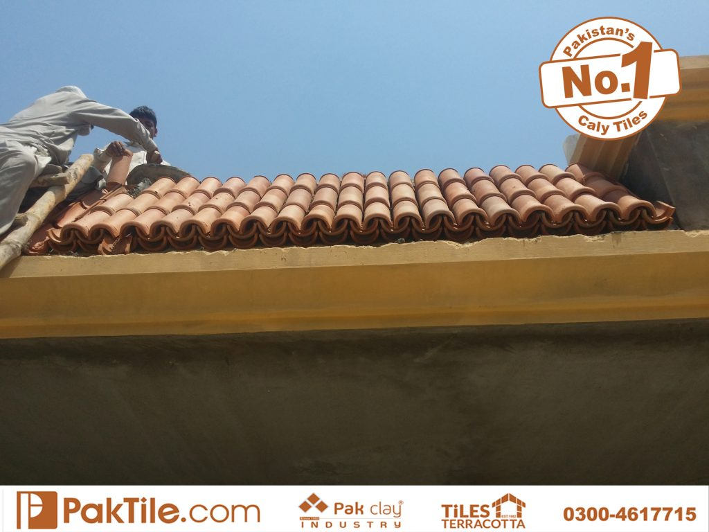 Paki Clay Tiles Industry Khaprail Tiles in Karachi Images (6)