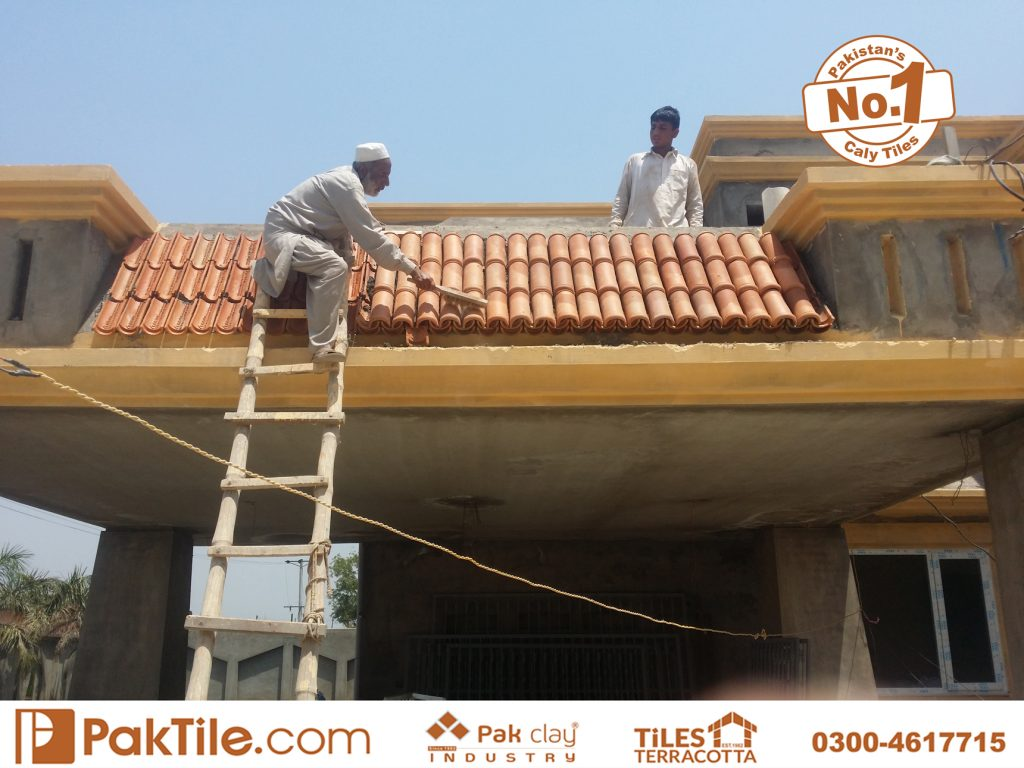Paki Clay Tiles Industry Khaprail Tiles in Karachi Images (9)