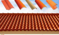 Pak Clay Natural Khaprail Tile Design Roofing Services Islamabad Images