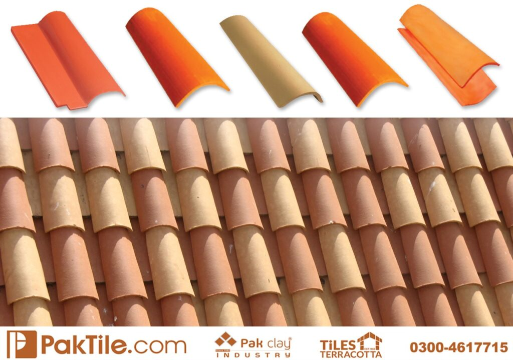 Pak Clay Natural Khaprail Tile Roofing Services Islamabad