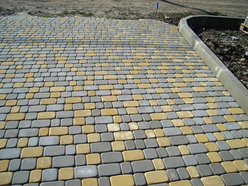 Pavers Block Car Porch Floor Tiles Design in Pakistan Images