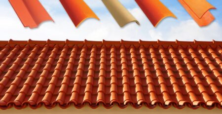 Natural Clay Khaprail Tile Design Roofing Services Islamabad Images