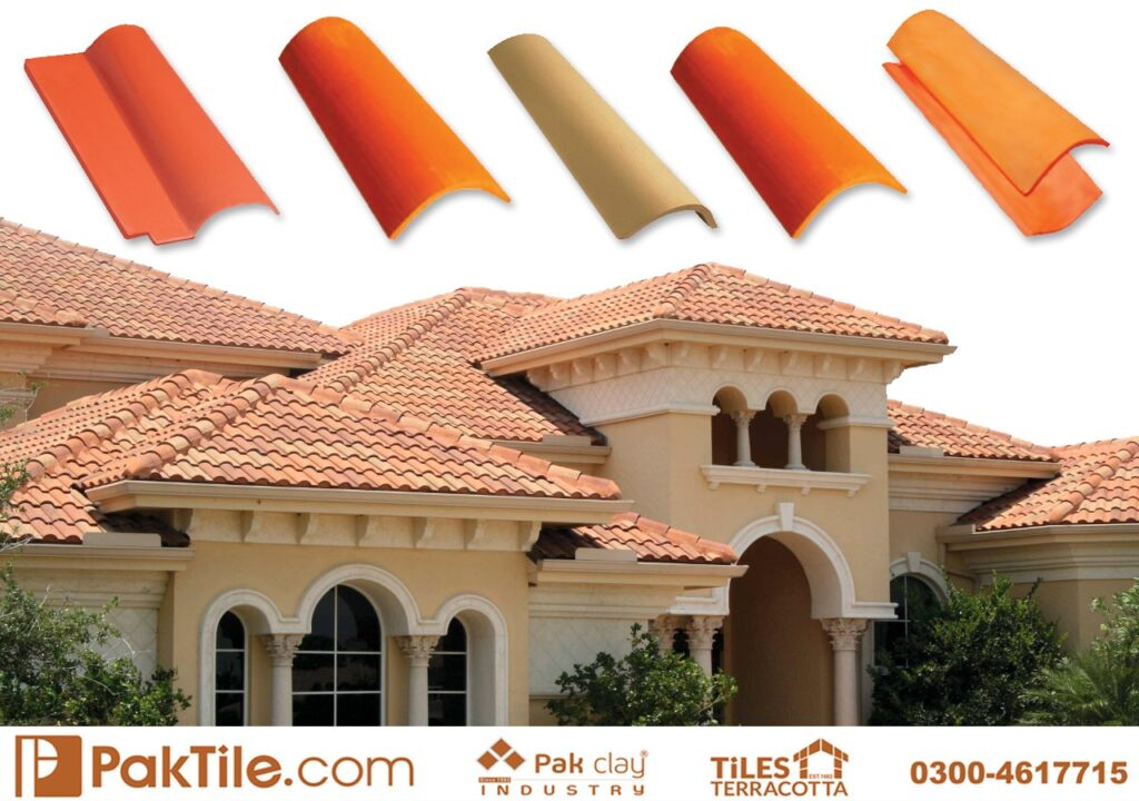 Natural Khaprail Tile Manufacturer Clay Roof Tiles in Pakistan