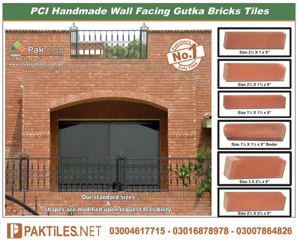 Pak Clay Gutka Bricks Price in Islamabad