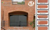 Red Gutka Tile Size Fair Face Bricks
