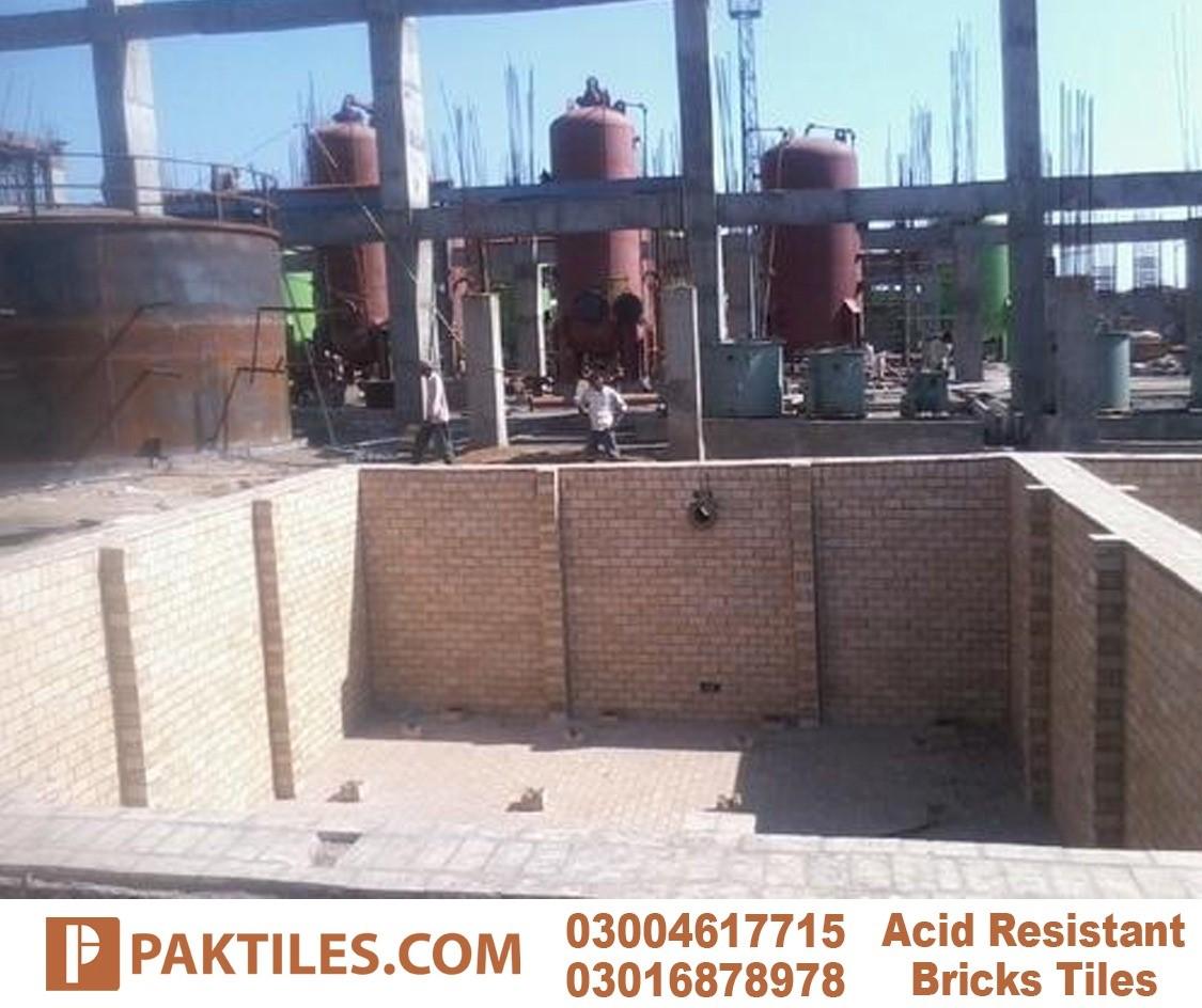 Acid resistant brick industrial flooring tiles options