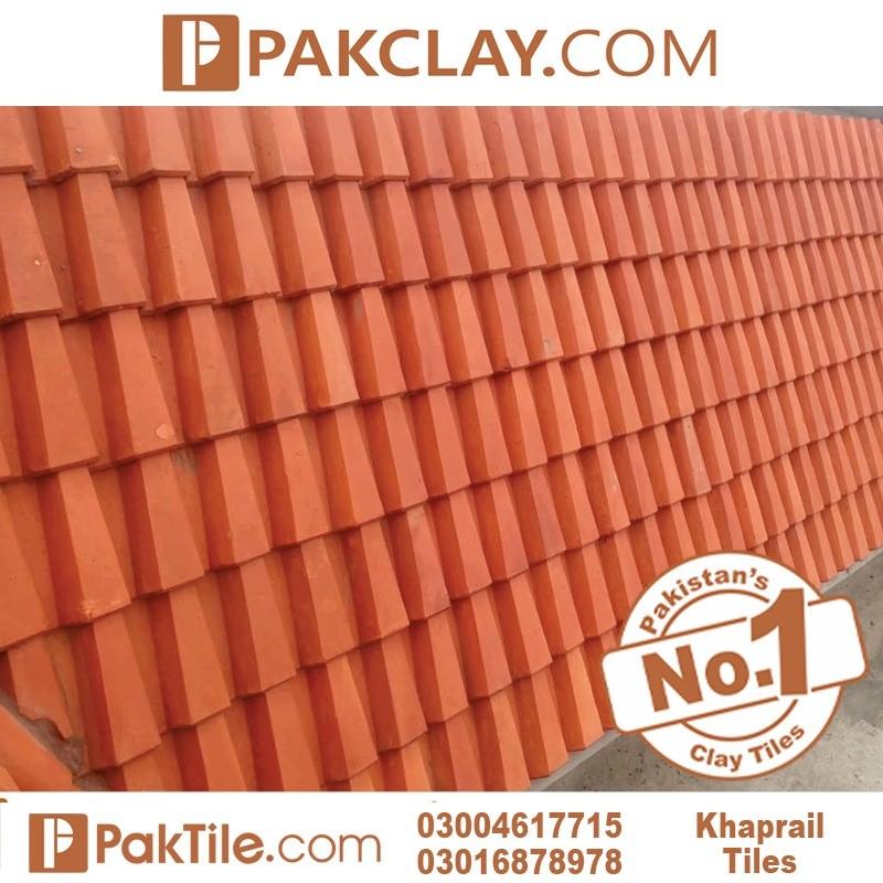 Pak clay khaprail colour khaprail tiles manufacturer