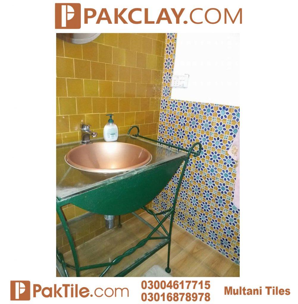 Pak Clay Best Designs Washroom Blue Multani Tiles For Walls